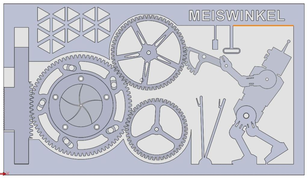 Mechanical business Card CAD model